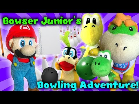 Crazy Mario Bros - Bowser Junior's Bowling Adventure