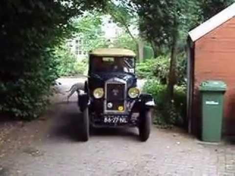 Peugeot 190S 5CV bouwjaar 1927 - YouTube
