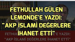 Fethullah Gülen AKP İslami Değerlere İhanet Etti - Adem Yavuz Arslan Yorumluyor