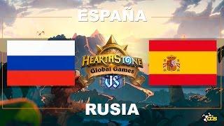 HGG - Semana 1, Día 1 - España VS Rusia