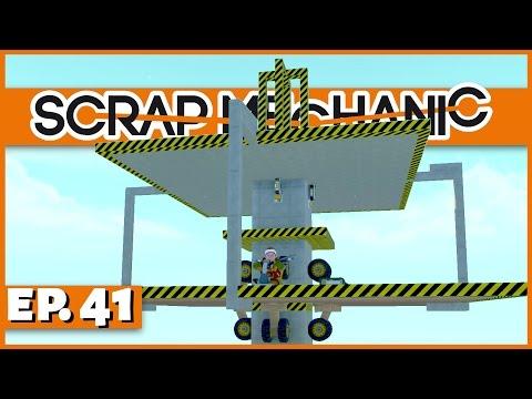 Scrap Mechanic - Ep. 41 - The Platform Locking Mechanism! - Let's Play Scrap Mechanic Gameplay