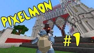 Гайд по моду Pixelmon: часть 1