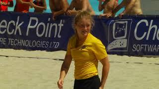 Голы чемпионата Украины по пляжному футболу среди женских команд Одесса 1 й день 25 07 2020