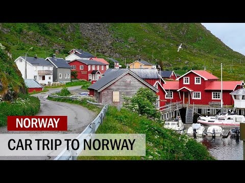 Norway car trip July 2017 part 1