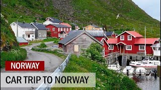 Car Trip to Norway | July 2017 | Lofotens • Atlantic Road Norway • North Pole