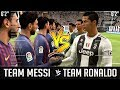 What If A Team Of Messi's Were The Same Height As A Team Of Ronaldo's? – FIFA 19 Experiment