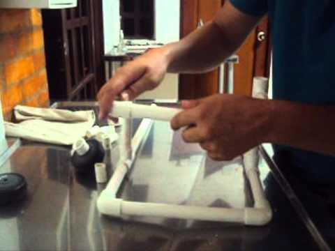 Como hacer una silla de ruedas para perro youtube for Sillon para una persona