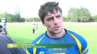 Rugby : Plaisir éliminé en play-offs