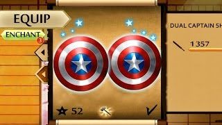 Shadow Fight 2 New Powerful Dual Captain America's Shield