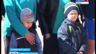 Легкоатлетическая эстафета в Куменах(ГТРК Вятка)