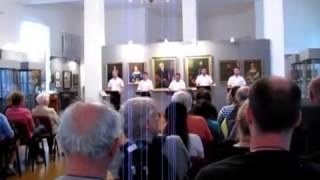 """Kovcheg"", profundo P. Myakotin - Song of the Volga Boatmen - (Basso profundo, oktavist)"