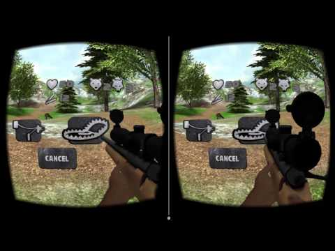 VR Hunting 2 - Cardboard (The most realistic VR hunting experience so far!)
