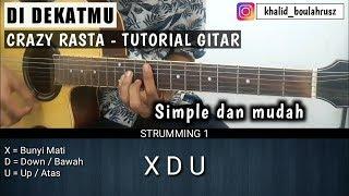 Download lagu Tutorial Gitar CRAZY RASTA Di dekatmu Belajar Gitar Pemula MP3