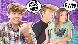 Making My BEST FRIENDS Fall In LOVE For 24 HOURS **THEY KISSED** ft. Gavin Magnus & Sophie Fergi