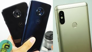 Moto Z3 Play VS Moto G6 Plus VS Xiaomi Redmi Note 5 / SUPREMO