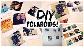 diy polaroids without a polaroid camera   sara belleza