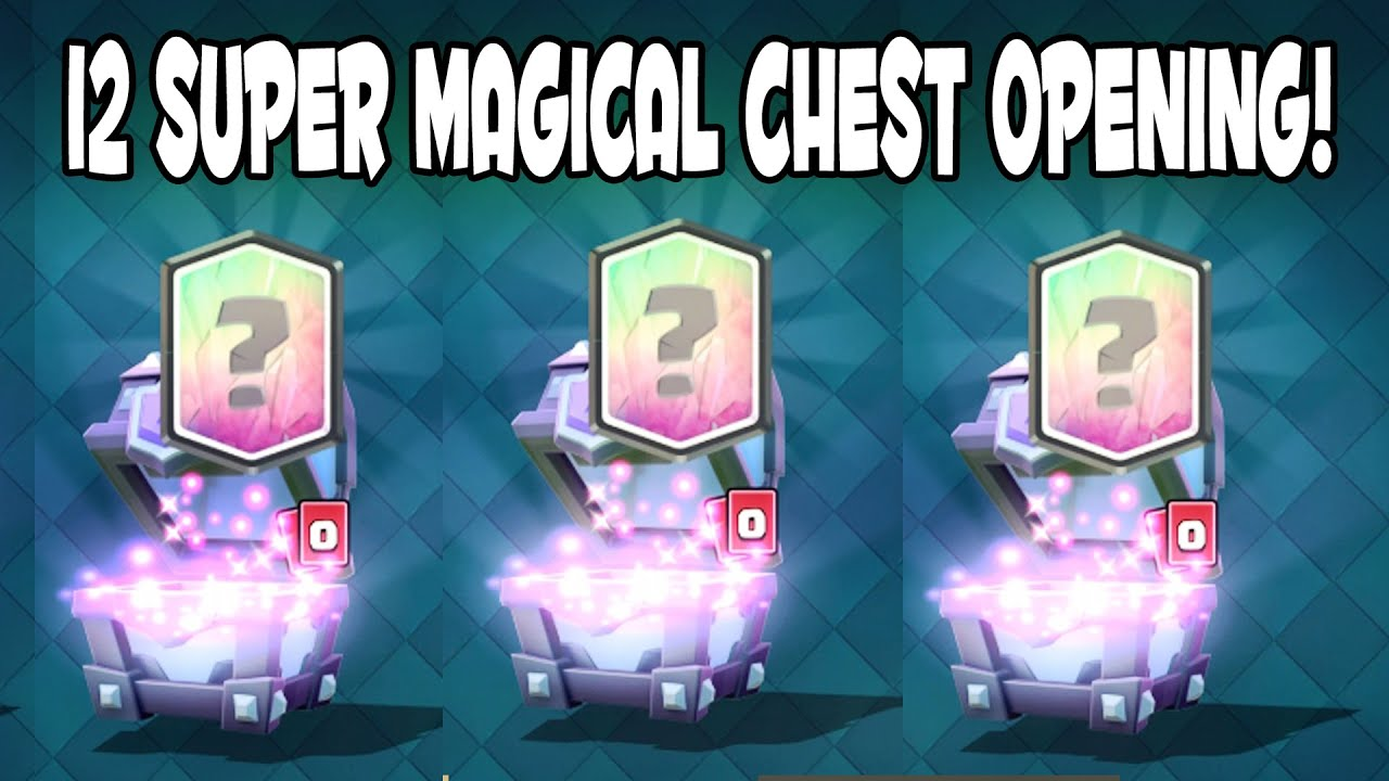 Clash Royale - BEST SUPER MAGICAL CHEST OPENING! Ice ...