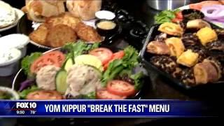 "Yom Kippur ""Break the Fast"" Menu"