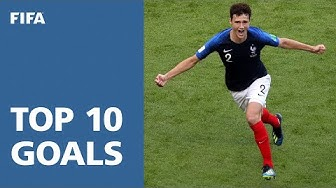 TOP 10 GOALS   2018 FIFA World Cup Russia