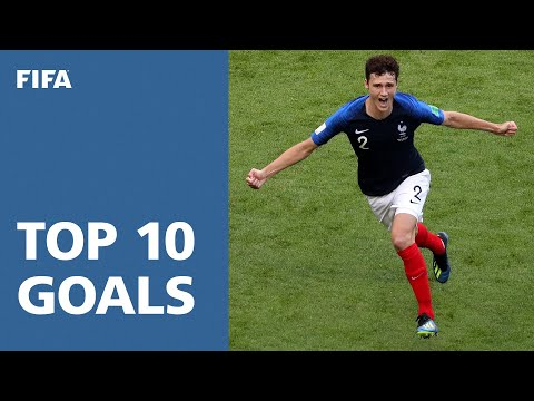 TOP 10 GOALS - 2018 FIFA WORLD CUP RUSSIA (EXCLUSIVE)