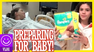 EMERGENCY HOSPITAL VISIT! PREPARING FOR BABY!  |  KITTIESMAMA