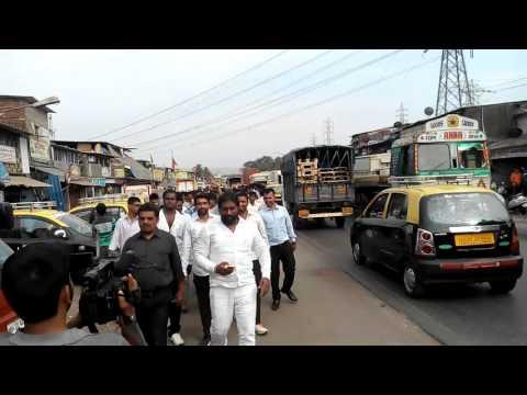 APNA SAMACHAR: Actor Pappu Yadav Path Yatra