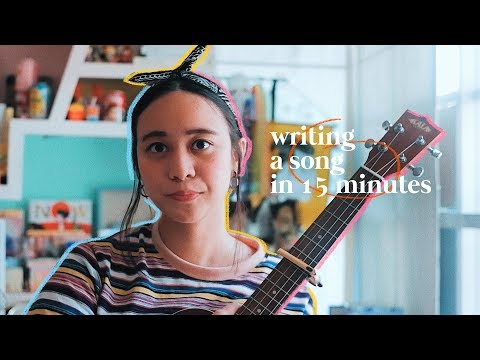 15 MINUTE SONGWRITING CHALLENGE 🙂 Ep 1