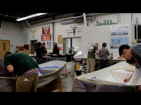 The Landing School Composite Boat Building Program
