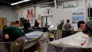 The Landing School Composite Boat Building Program