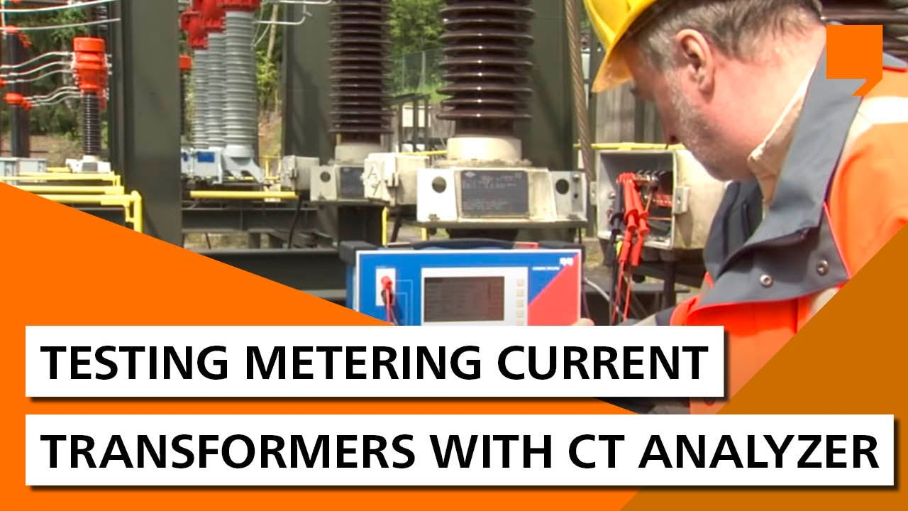 Testing metering current transformers with CT Analyzer