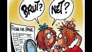 Net and gross salary in France