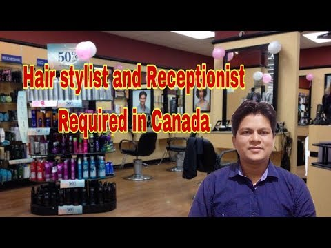 Hair Stylist And Receptionist Jobs In Canada