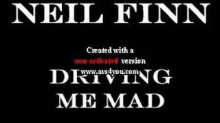 Neil Finn - Driving Me Mad