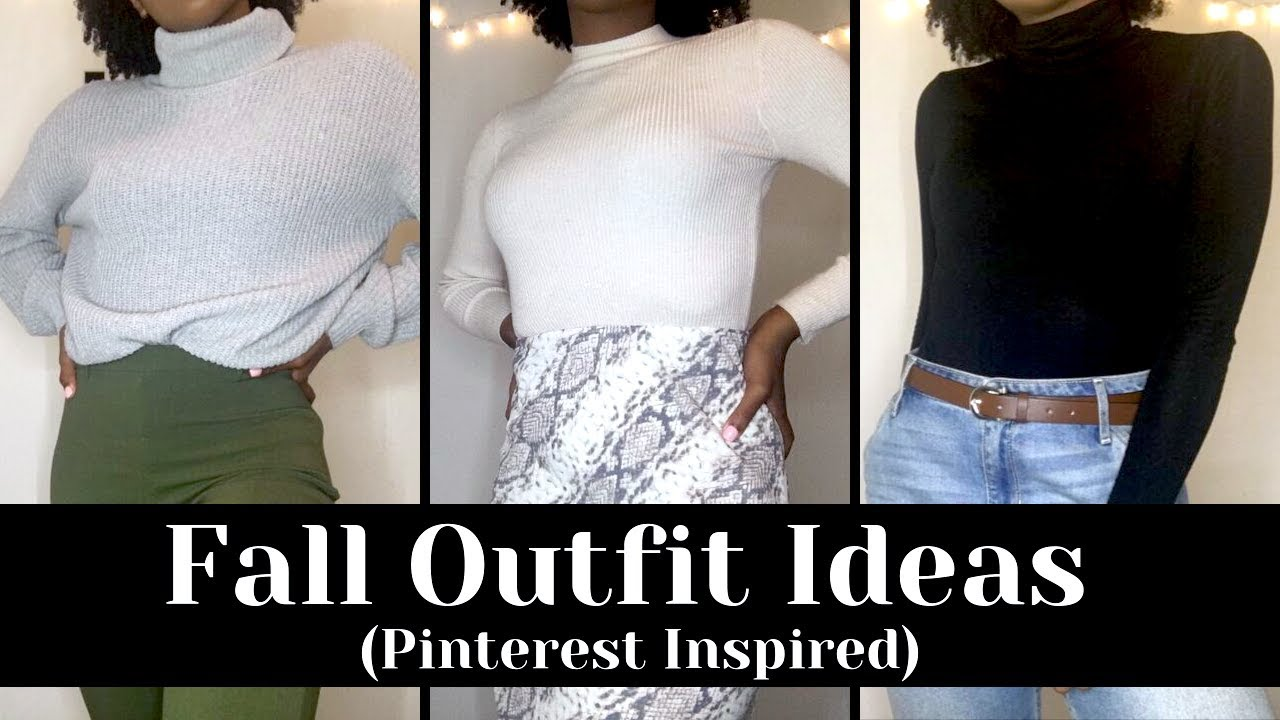FALL OUTFIT IDEAS🍂 (PINTEREST INSPIRED) | 2019 | AnnaNicole