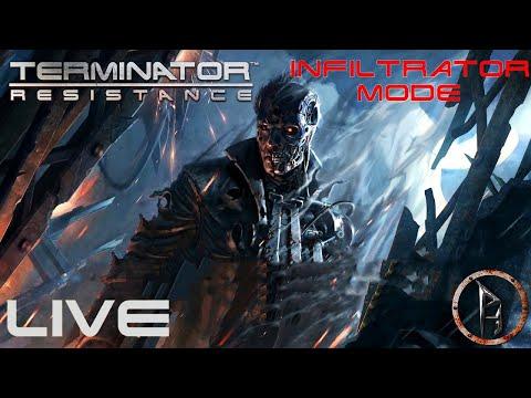 Terminator Resistance-/Live/-Hekinator a beszivárgó! /Infiltrator mode/