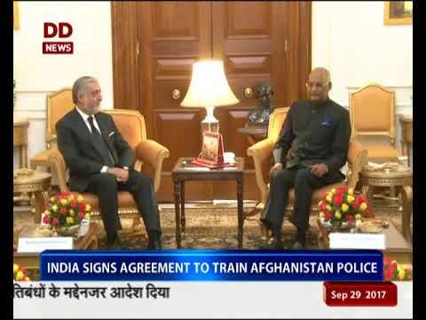 Afghanistan CEO Abdullah on 3 day visit to India