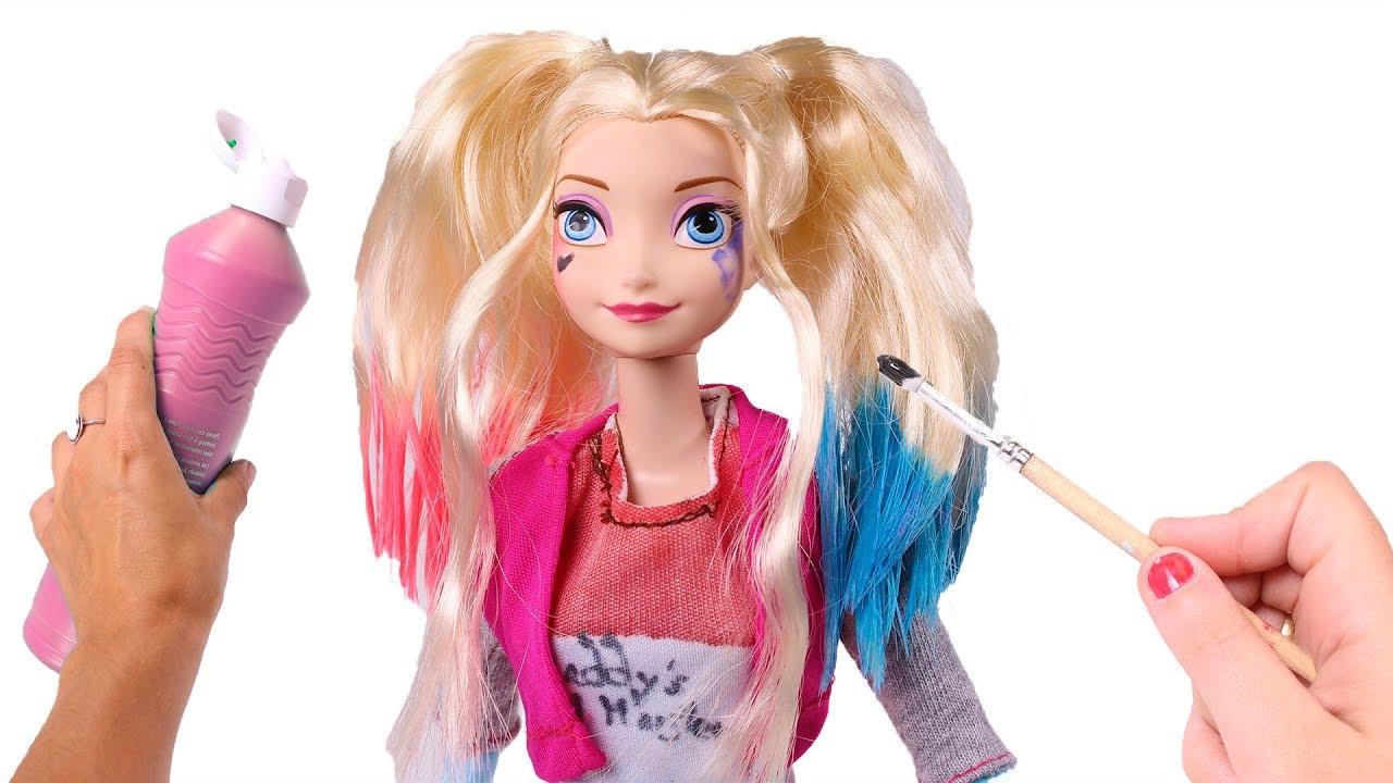 Elsa Frozen Disfraz De Harley Quinn Disfraces De