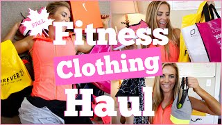 Fitness Clothing Haul | Fall - Nike, Forever 21, Lorna Jane + More!
