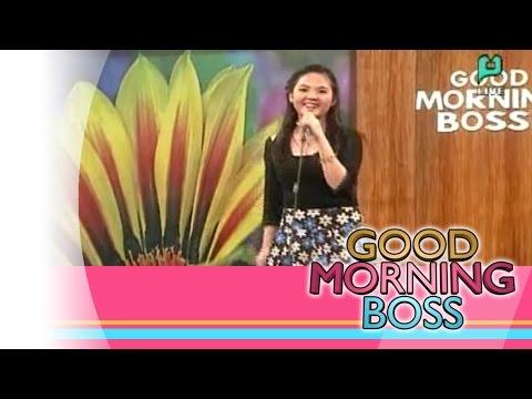 [Good Morning Boss] Performing Live: Anne Jazpher Raz [01|22|16]