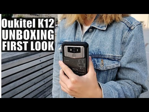 Oukitel K12 Unboxing And First Look: 10000mAh Battery Phone!