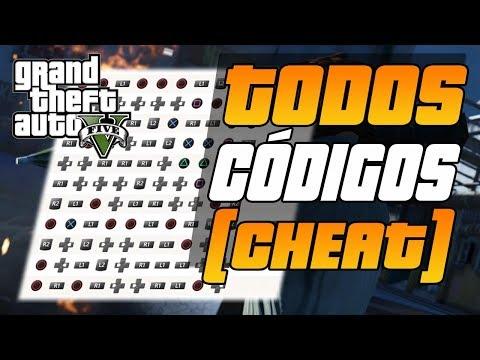 GTA V CÓDIGOS  - MACETES - CHEATS CODES - TRAPAÇAS - GTA 5