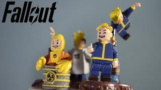 Самодельные лего-пупсы из игры Фоллаут Fallout Vault boy. Часть 1. Крышки