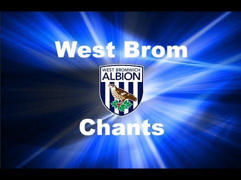 West Bromwich Albion's Best Football Chants Video | HD W/ Lyrics