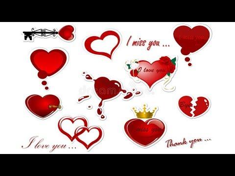 Love Stickers - Valentine