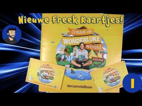 Nieuwe Freek Vonk Albert Heijn plaatjes -De wondere wereld met Freek Vonk