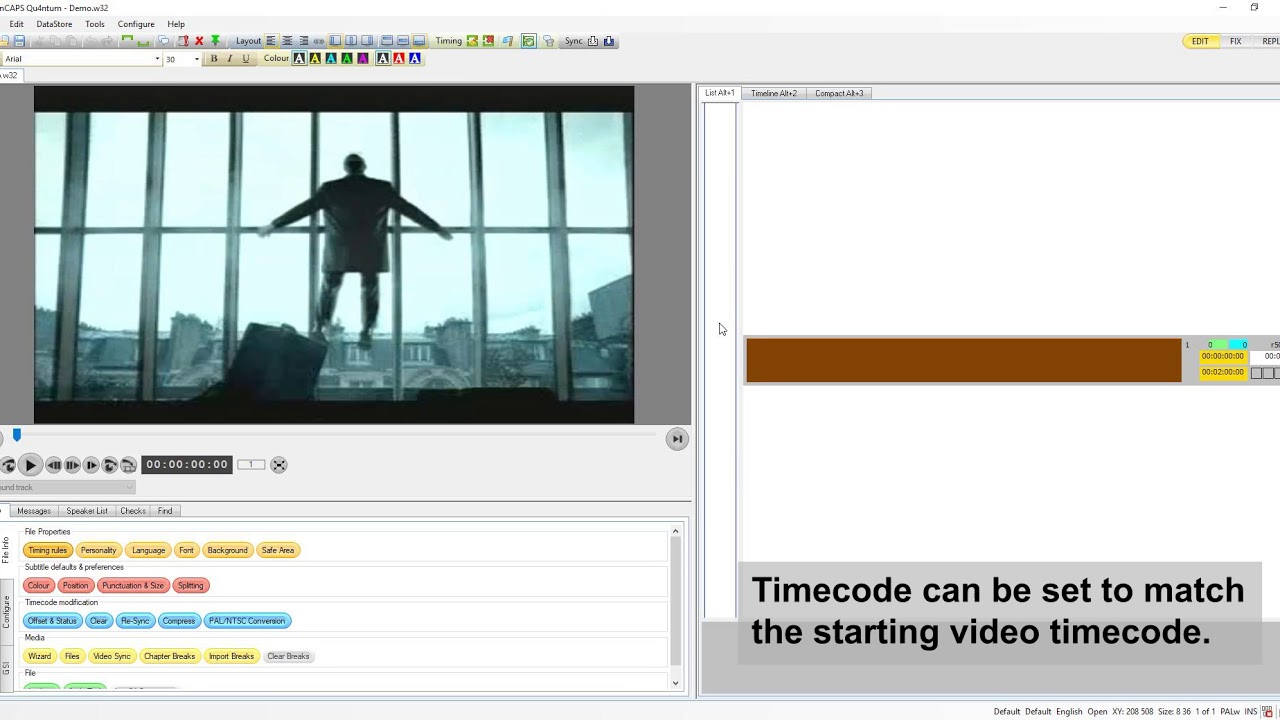 WINCAPS Q4 Subtitling Software - Screen Systems