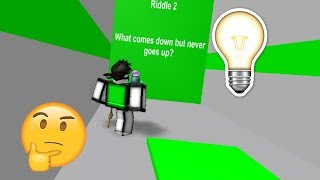 EASY RIDDLES?! || ROBLOX - Riddle Mania! [Gameplay]