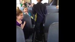 Harlem shake on the bus