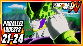 Dragon Ball Xenoverse PS3: Parallel Quests 21-24 - The Cell Games Begin!