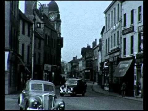 Mansfield - Mansfield Town 1950s ( Excerpt ) - Past Lives Project